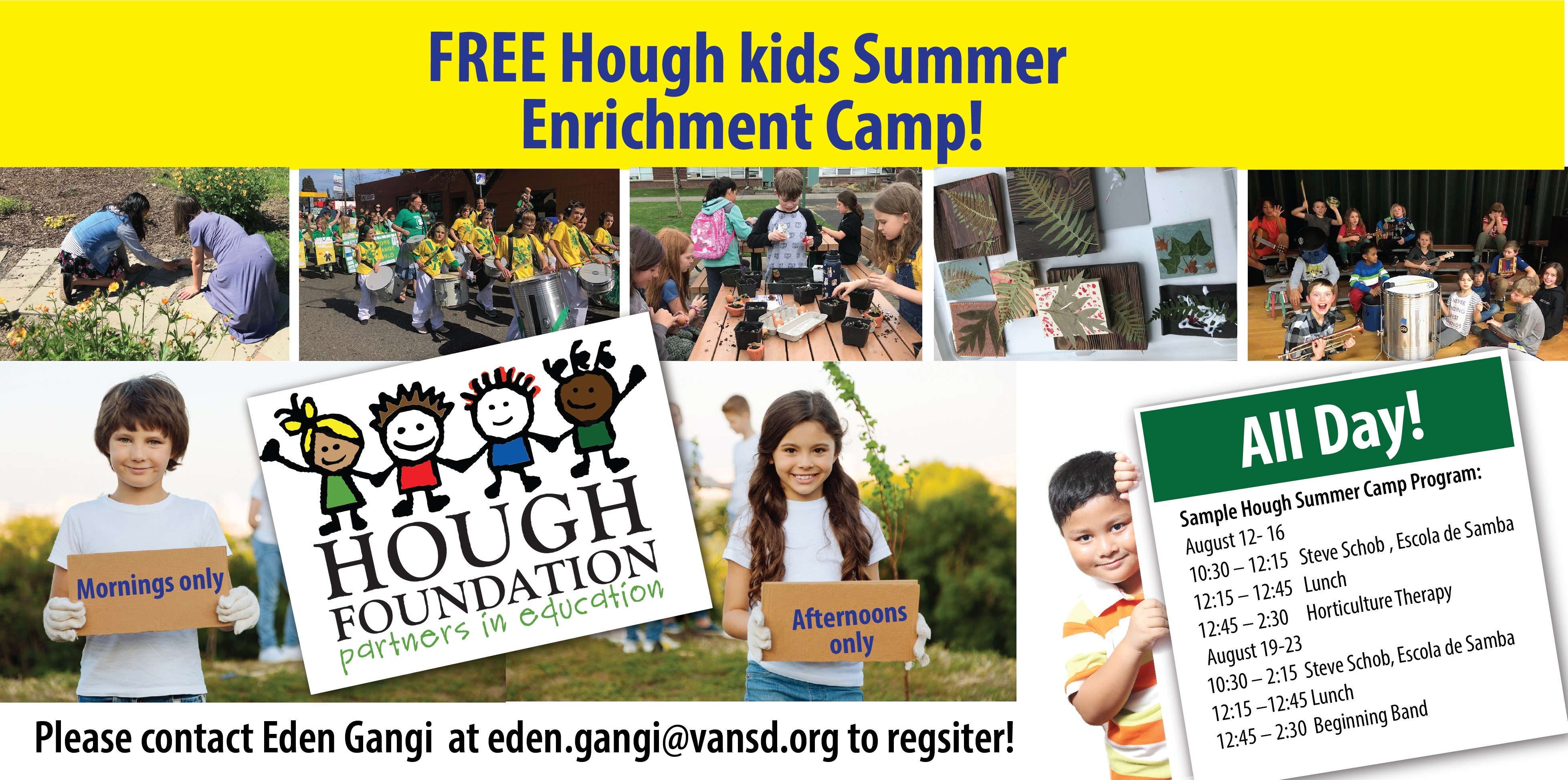 Summer Program Hough