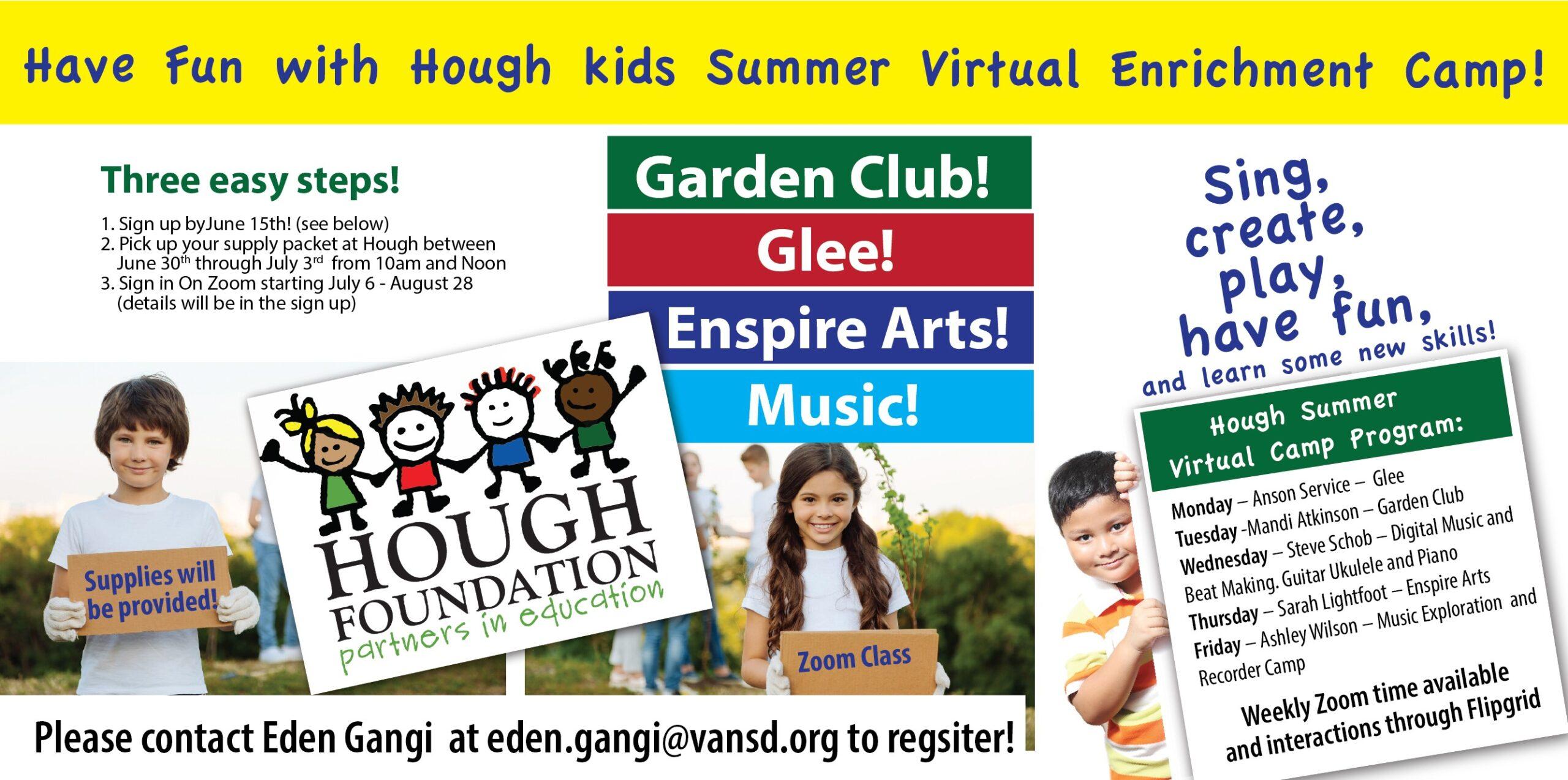 hough virtual summer camp