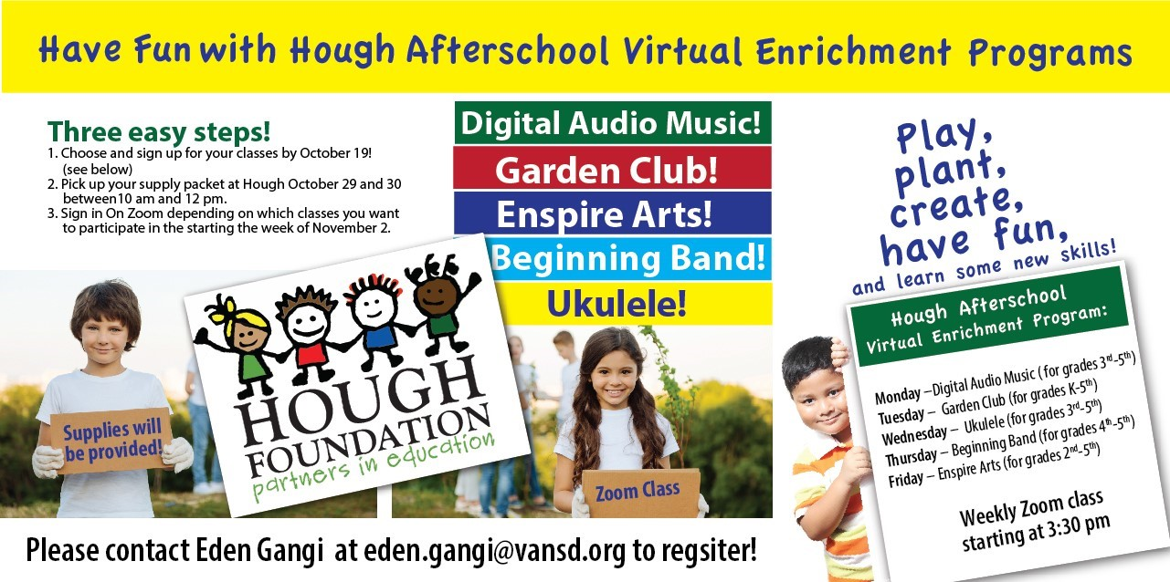 Virtual Enrichment Programs